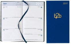 Strata Pocket Diary - Week To View Portrait - White Paper
